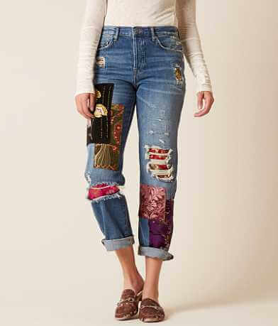 Free People Lux Boyfriend Jean