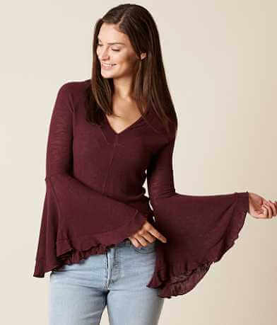Free People Soo Dramatic Top
