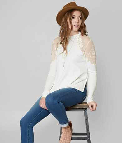 Free People Daniella Pieced Top