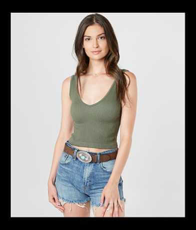 Free People Ribbed Brami Tank Top