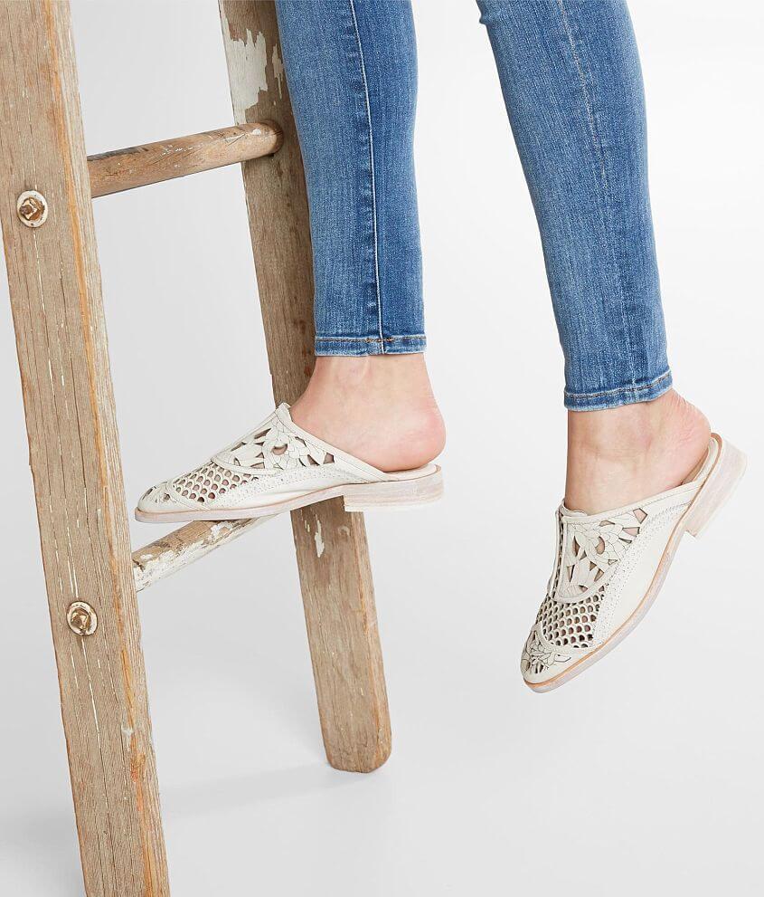 6de967574b Free People Paramount Mule Shoe - Women's Shoes in White   Buckle