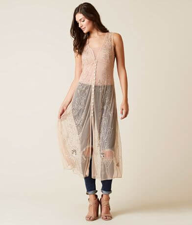 Free People Vested In You Vest