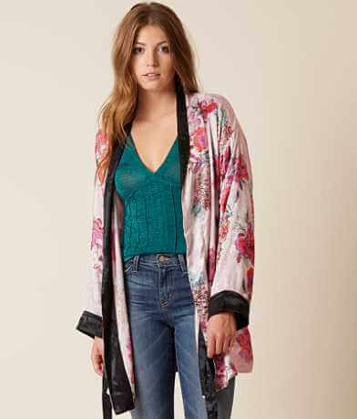 Free People Ladies Who Lounge Cardigan