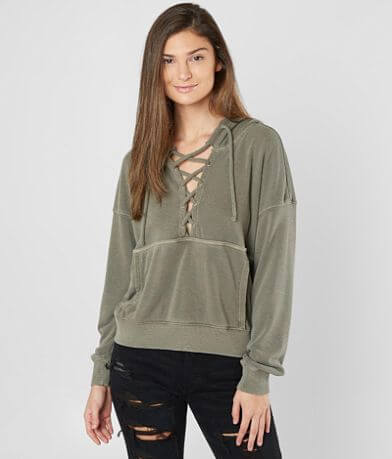 Free People Believer Hooded Sweatshirt