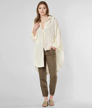 Free People Memory Lane Tunic Shirt