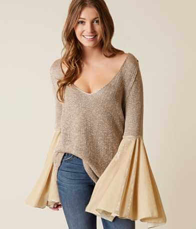Free People Celestial Metallic Sweater