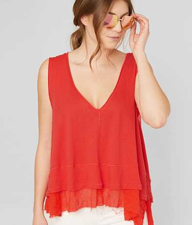 Free People Peachy Tank Top