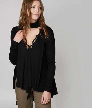 Free People Uptown Turtleneck Top