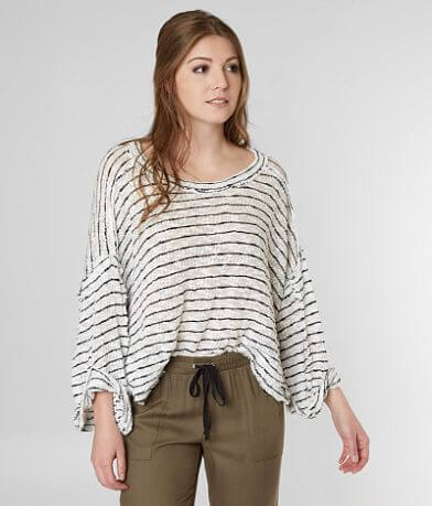Free People Striped Island Girl Top