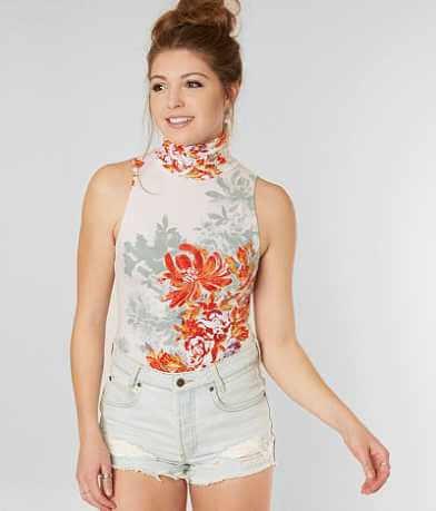 Free People Pixie Floral Bodysuit