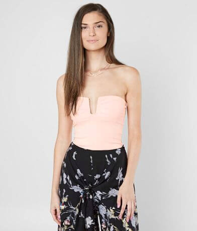 Free People Falling For You Strapless Tube Top