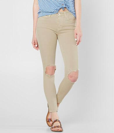 Free People High Rise Ankle Skinny Stretch Pant