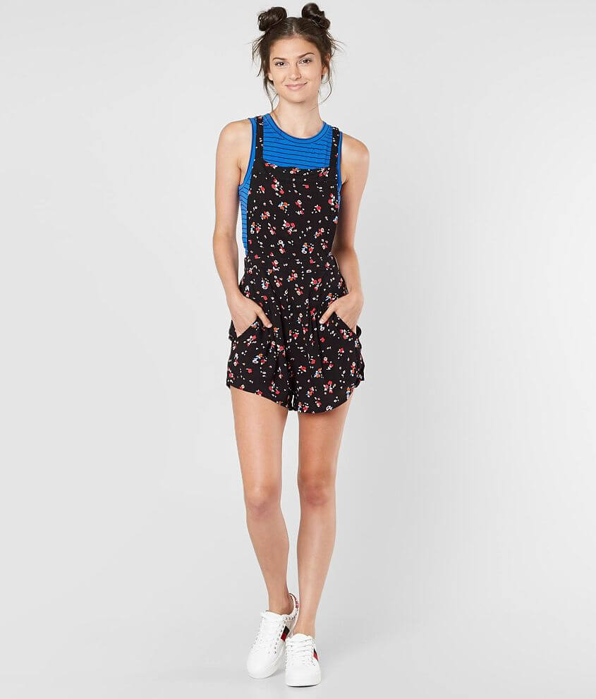 099ba10737da Free People Sweet In The Streets Overall Short - Women s Rompers ...