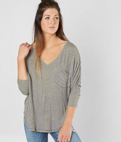 Free People Golden Gate Ribbed T-Shirt