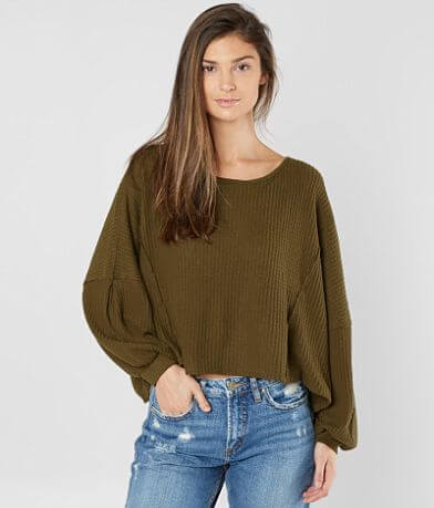Free People Love Me Thermal Top