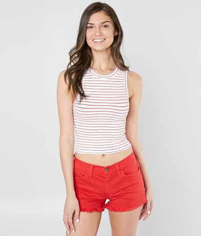 Free People Seamless Cropped Tank Top