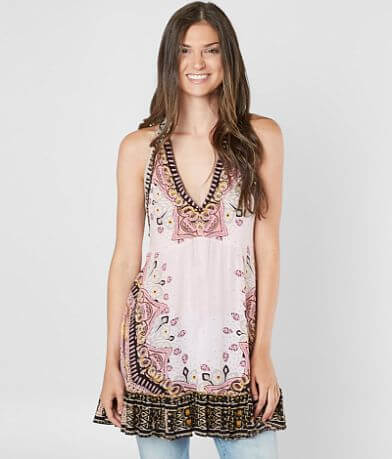 Free People Steal The Sun Tunic Tank Top