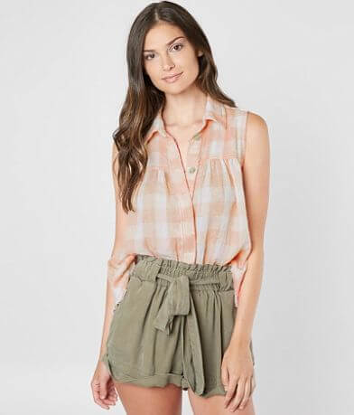 Free People Hey There Sunrise Tank Top