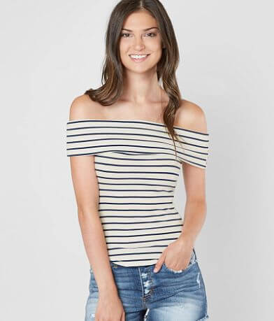 Free People Melbourne Off The Shoulder Top