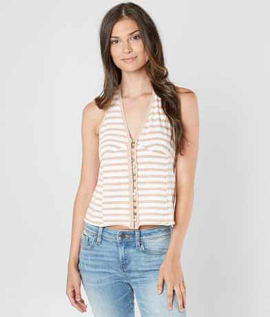 Free People Mylo Striped Tank Top