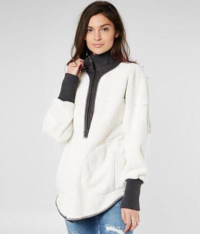 Free People Mountain Dreamin'Fleece Sweatshirt