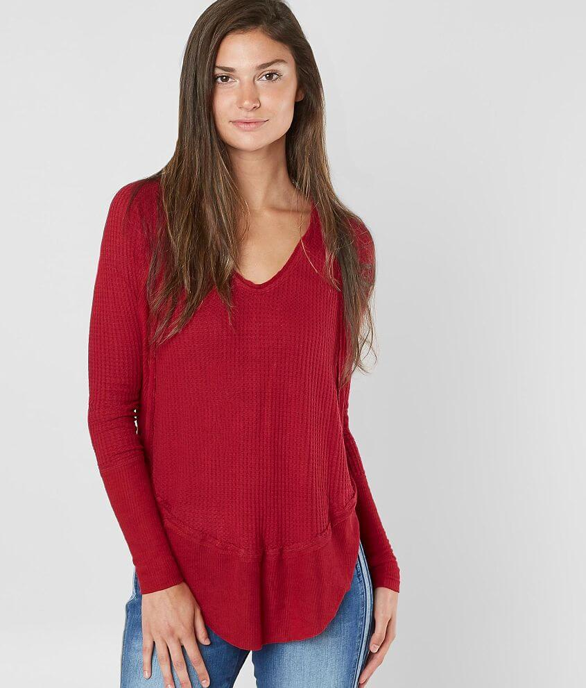 9a0a995daf Free People Catalina Thermal Top - Women s Shirts Blouses in ...