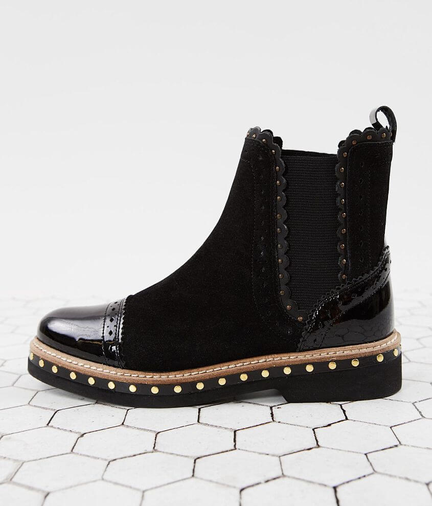 Free People Atlas Suede Chelsea Ankle Boot front view