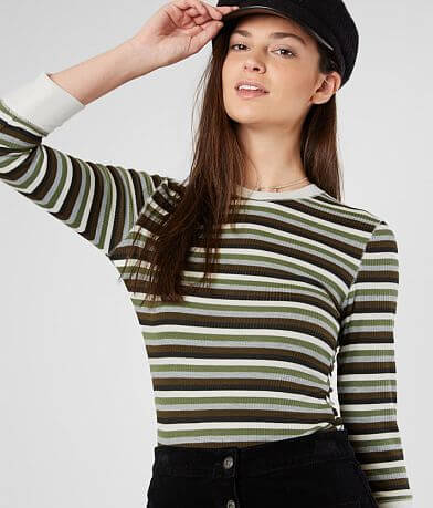 Free People Good On You Striped Top