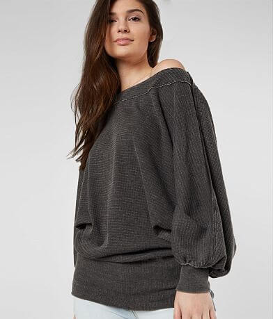 Free People Willow Washed Thermal Top