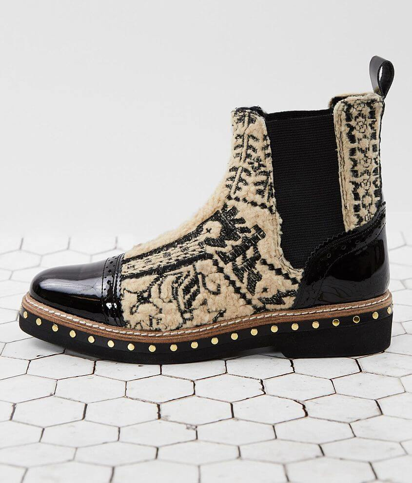 Free People Atlas Leather Chelsea Ankle Boot front view