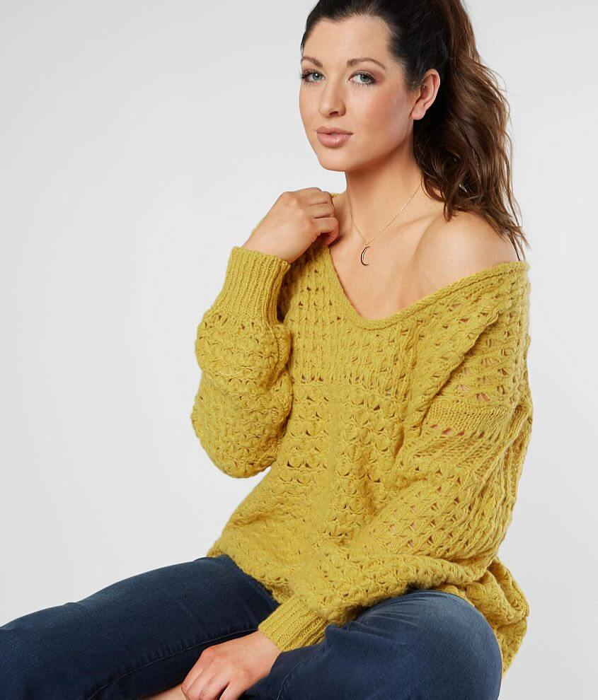 cf5fcb167eb38 Free People Crashing Waves Pullover Sweater - Women s Sweaters in ...