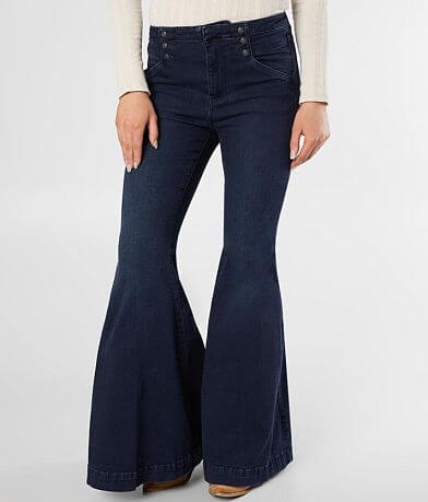 Free People Maddox Flare Stretch Jean