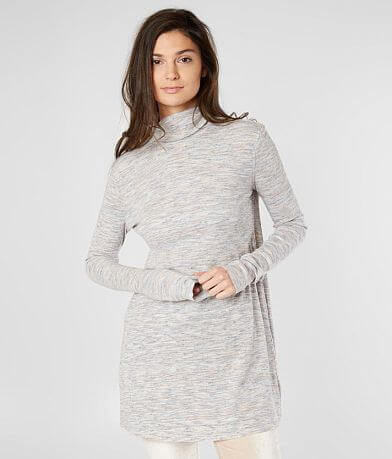 Free People Stonecold Ribbed Tunic Top