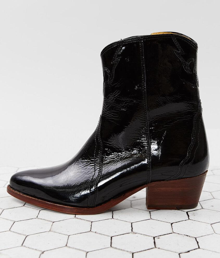 Free People New Frontier Leather Ankle Boot front view