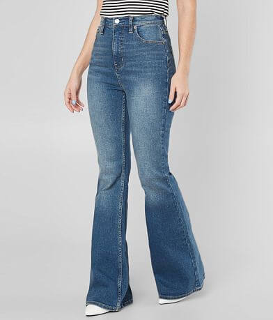 Free People CRVY Robin Flare Stretch Jean