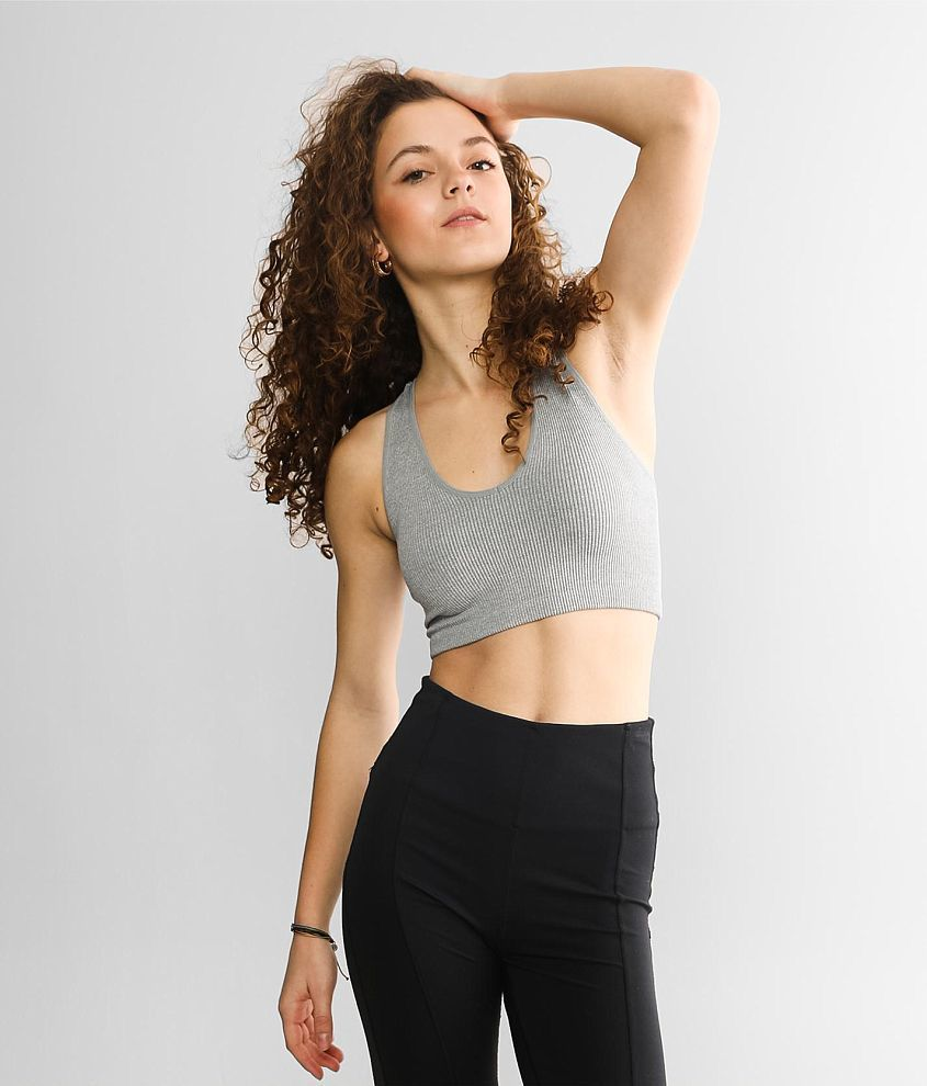 Free People Movement Free Throw Active Bralette front view
