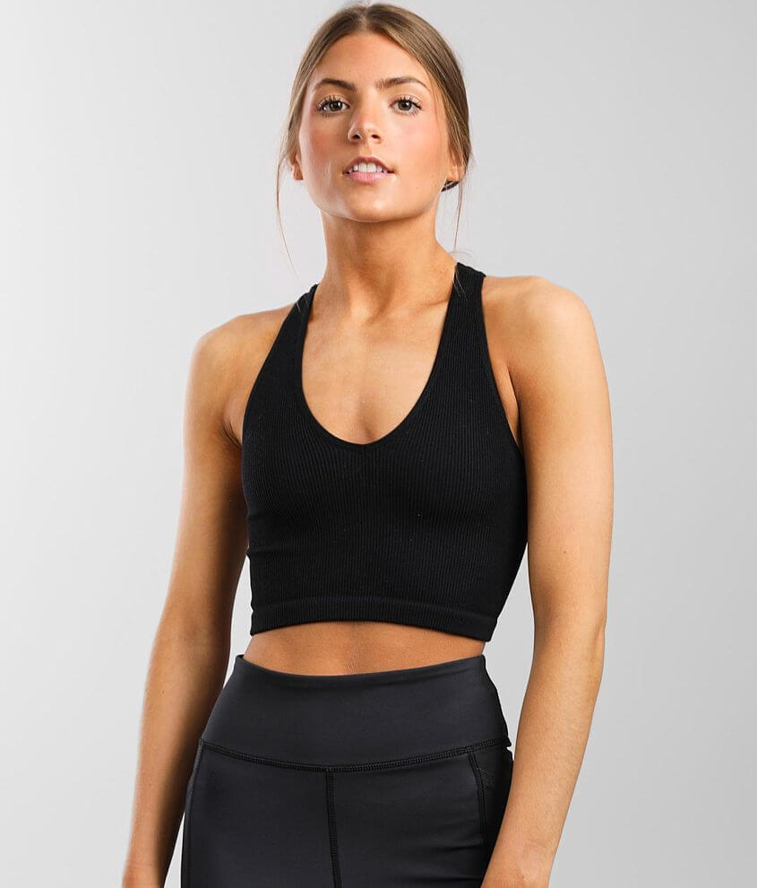 Free People Movement Free Throw Cropped Brami front view