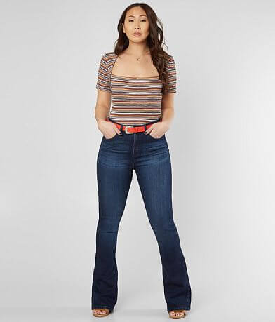 Free People Wild Striped Top