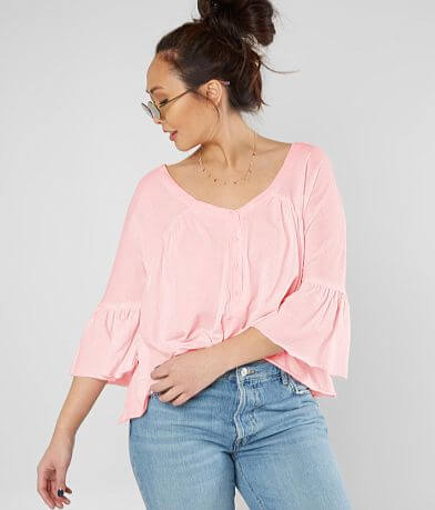 Free People Sweet Little Blouse