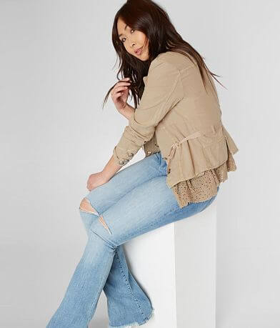 Free People Emilia Belted Jacket