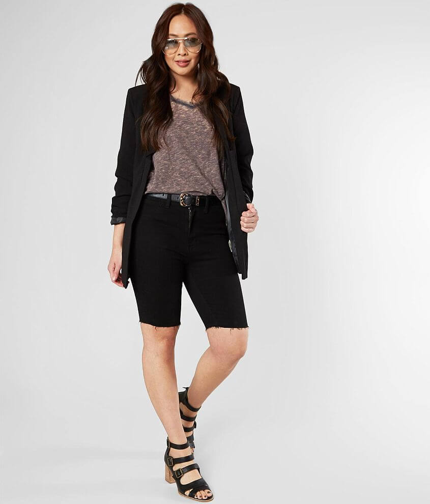 Free People So Chic Stretch Biker Short front view