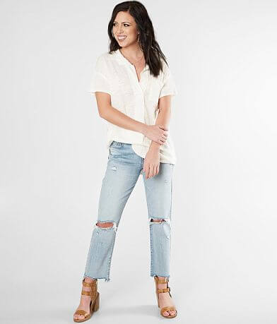 Free People The Posh Polo T-Shirt