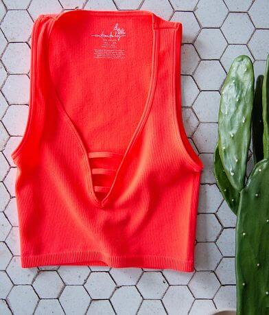 Free People Strapped In Brami Tank Top