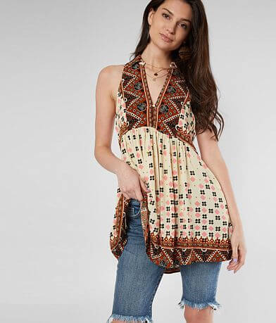 Free People Charlotte Tunic Tank Top