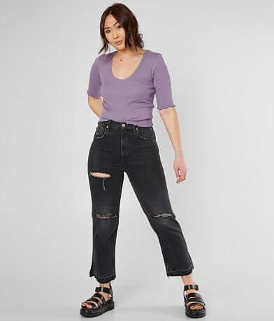 Free People Lita Ankle Straight Jean