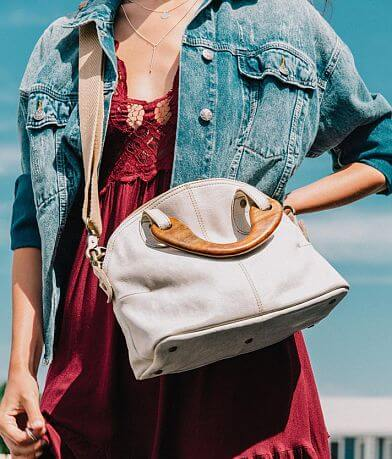 Free People Mini Willow Leather Crossbody Tote
