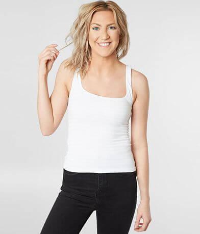 Free People Square One Seamless Tank Top