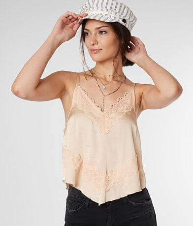 Free People Your Eyes Cami Tank Top