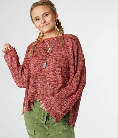 Free People Prism Pullover Sweater