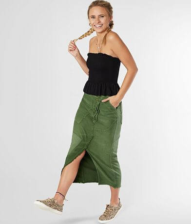 Free People Echo Midi Skirt
